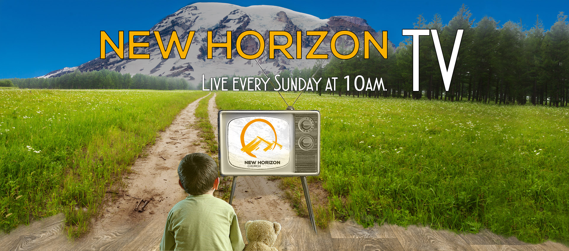 New Horizon TV - Sundays at 10AM