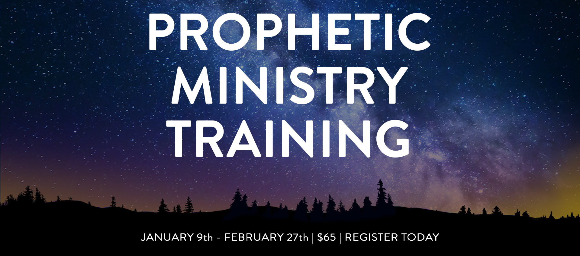 Prophetic Ministry Training