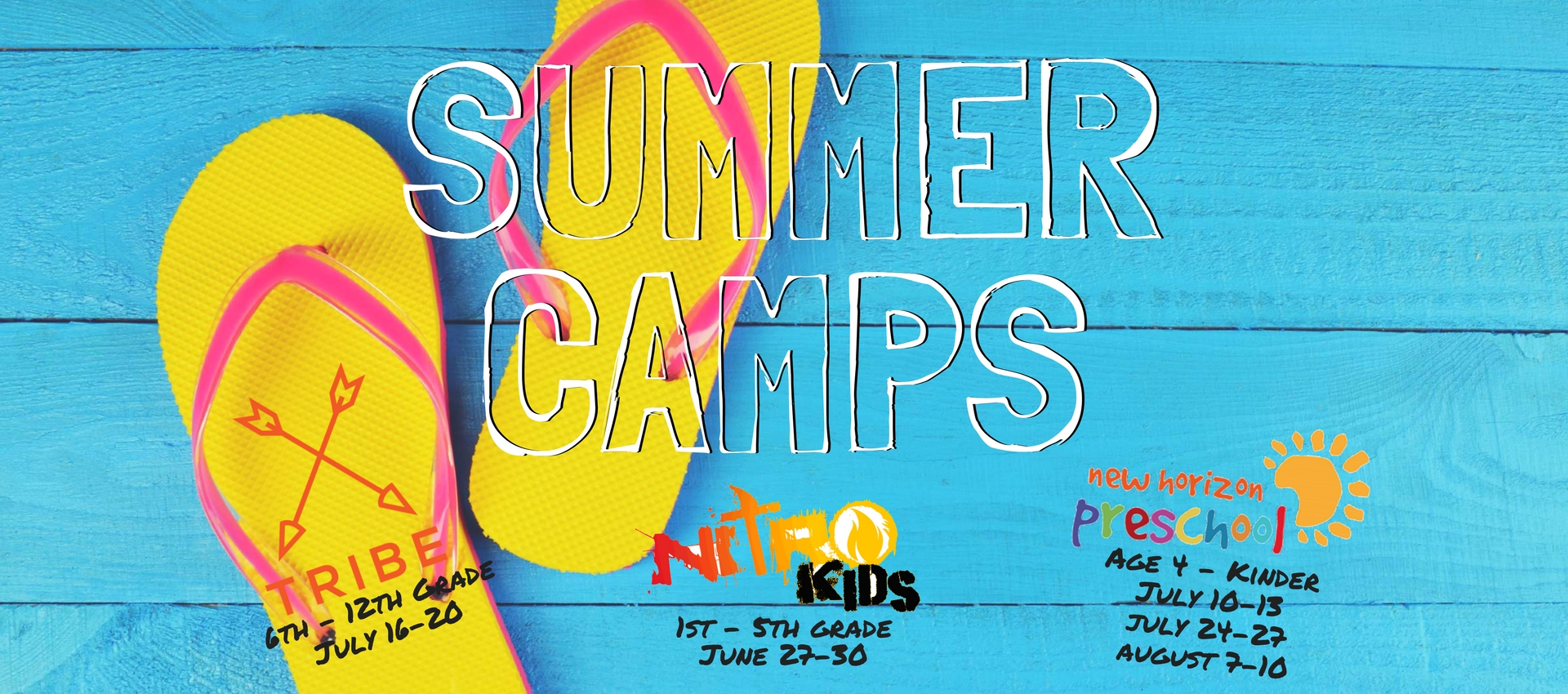 Summer Camps at NHC - Register Today!