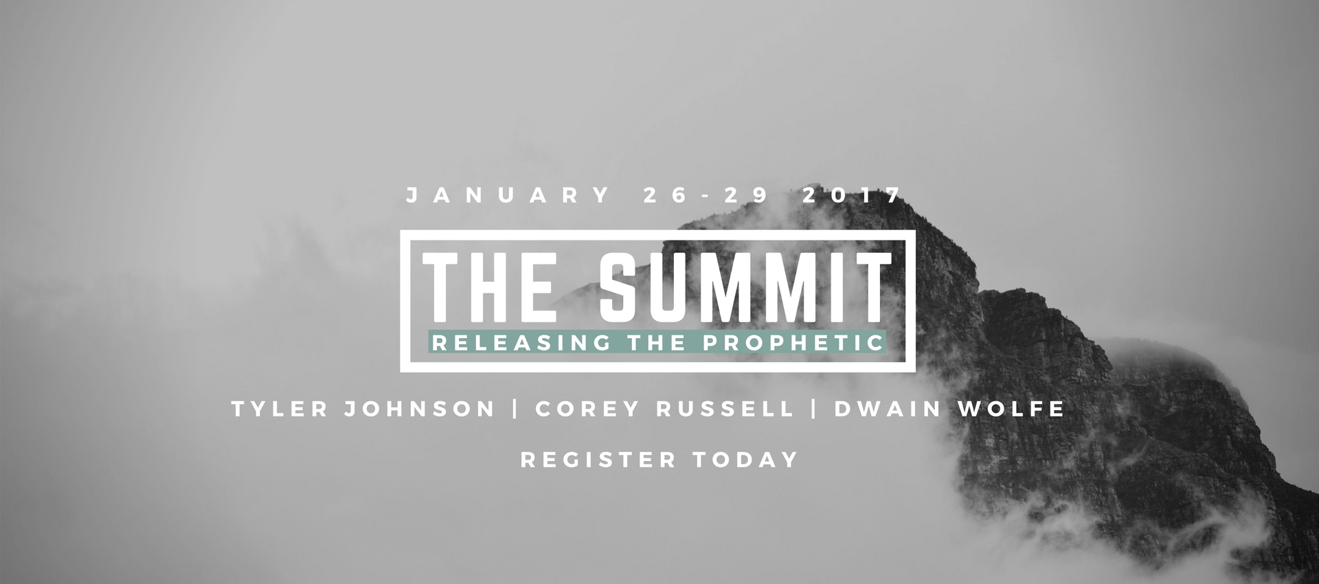 The Prophetic Summit - January 27th-29th